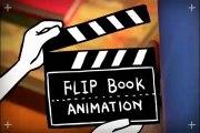 Matrix style flipbook animation