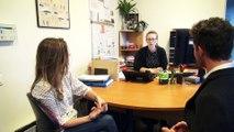 Interview du président de l'université Panthéon-Assas a propos des travaux du centre Assas