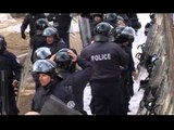 PROTESTE NE PRISHTINE LEVIZJA VETEVENDOSJE MANIFESTON KUNDER FUSNOTES LAJM