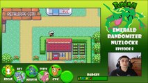 Pokemon Emerald Randomizer Nuzlocke w/PokeaimMD! - Ep 8 IDM WE IN THIS [FACECAM]