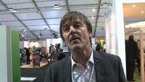 Nicolas Hulot à propos des espaces génération climat à la COP 21