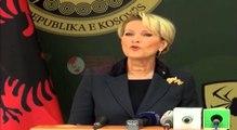 Vizita, Kriza politike në Kosovë, Ministrja Kodheli: Gjuha e rrugës nuk është zgjidhje- Ora News