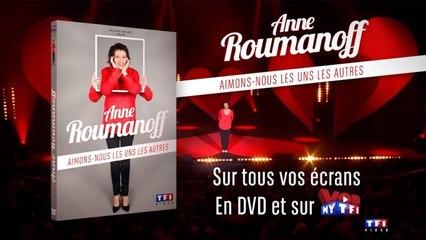 """Anne Roumanoff - Sortie DVD """"Aimons-nous les uns les autres"""" le 2 décembre"""