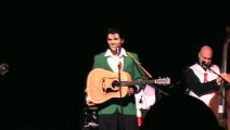 Cody Slaughter sings 'Blue Suede Shoes' New Daisy Theater Elvis Week 2015