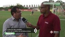 Vice-presidente de futebol, Carlos Pellegrini falou sobre a situação de dois jogadores do Internacional