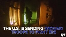 U.S. Is Sending Ground Troops To Iraq