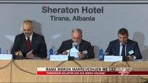 Rama mbron marrëveshjen me CEZ - News, Lajme - Vizion Plus