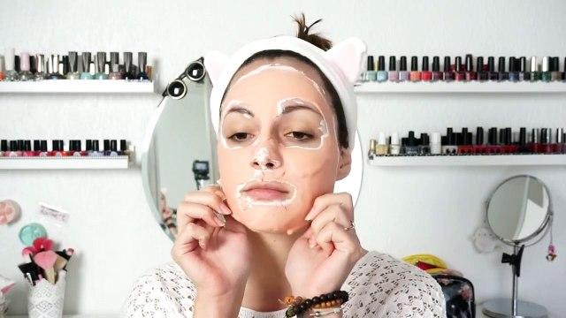 Today LES MODELING MASKS CORÉENS Mango Beauty Tips