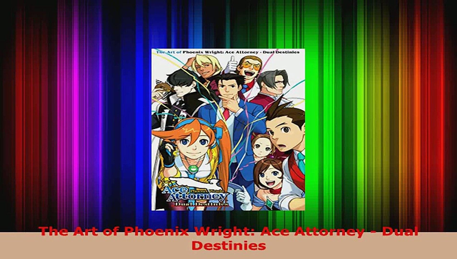 Read The Art Of Phoenix Wright Ace Attorney Dual Destinies Ebook