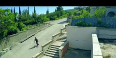 Sport parkour in extreme heights