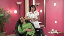 Hair Removal - Threading the Eyebrows