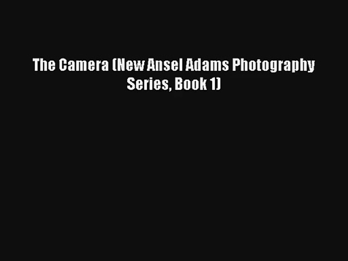 In the Footsteps of Ansel Adams and the Masters Digital Landscape Photography