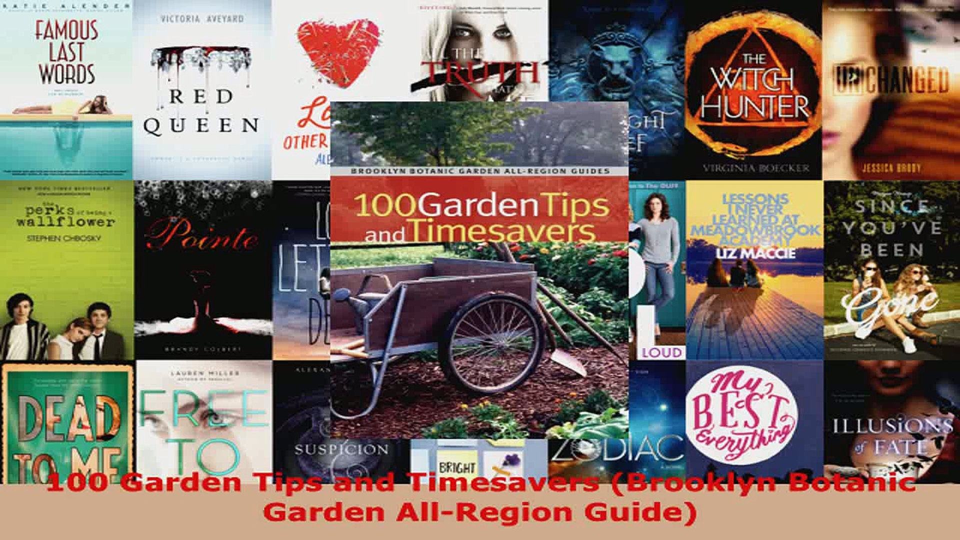 Read  100 Garden Tips and Timesavers Brooklyn Botanic Garden AllRegion Guide Ebook Free