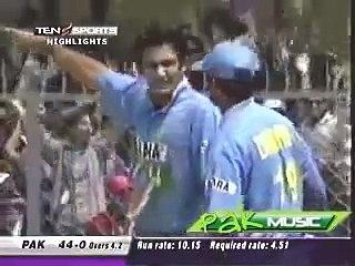Boom Boom's Fastest 100 against India.