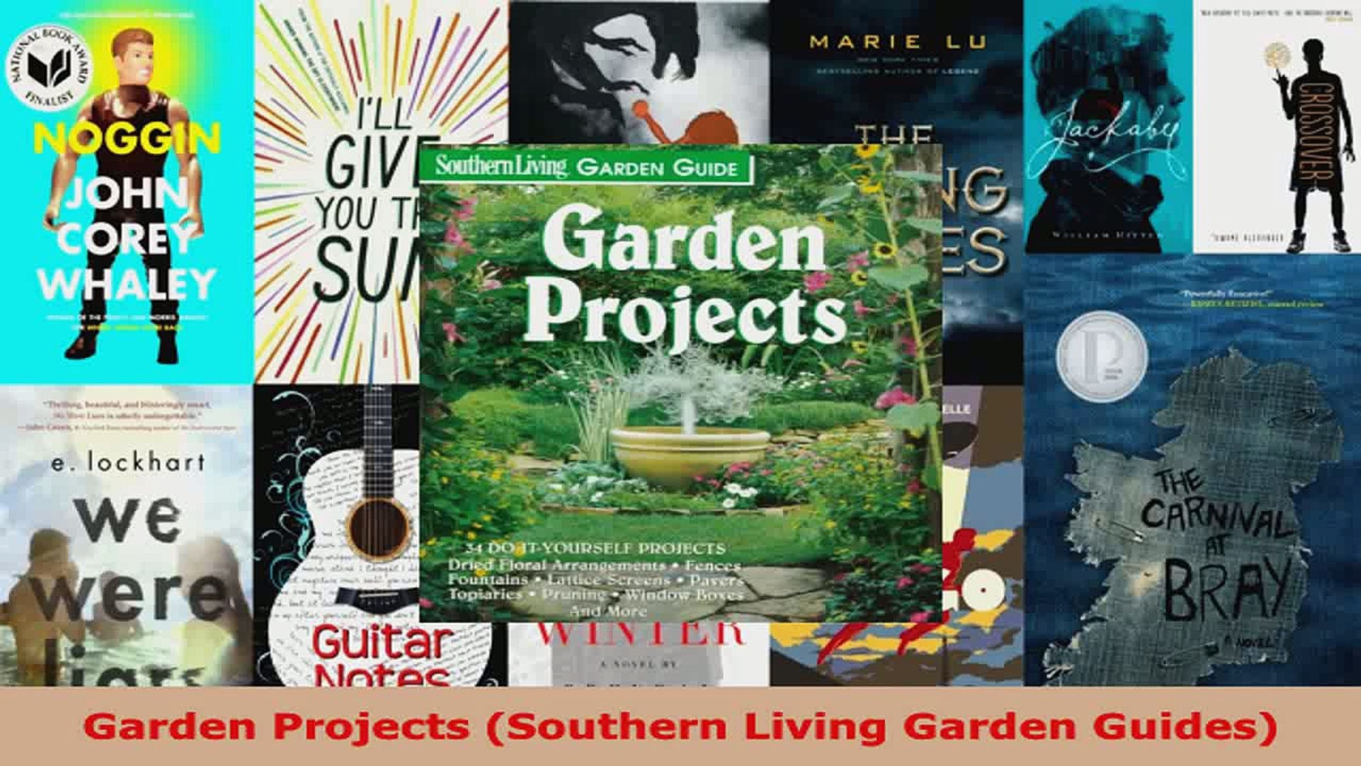 Read  Garden Projects Southern Living Garden Guides PDF Free