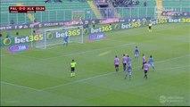 0-1 Loviso Penalty Goal Italy  Coppa Italia  Round 4 - 02.12.2015, US Palermo 0-1 US Alessandria