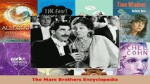 Read  The Marx Brothers Encyclopedia PDF Free