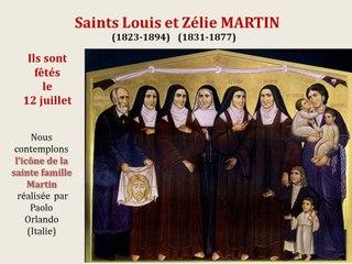 10. Prier avec l'icône de saints Louis et Zélie Martin