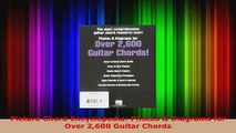 Read  Picture Chord Encyclopedia Photos  Diagrams for Over 2600 Guitar Chords EBooks Online