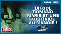 Difool, Romano, Marie et Inès au Manoir de Paris - La Radio Libre