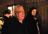 Activist Slams Into Pole While Interviewing Politician