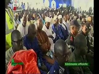 ceremonie officielle magal de touba 2015 - discours de serigne bass abdou khadre porte parole du khalife general