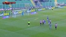 Palermo-Alessandria 0-2 gol Loviso 02-12-2015 Coppa Italia 2015-2016