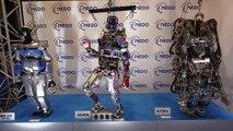 Japon: des robots androïdes pour aider en cas de désastre