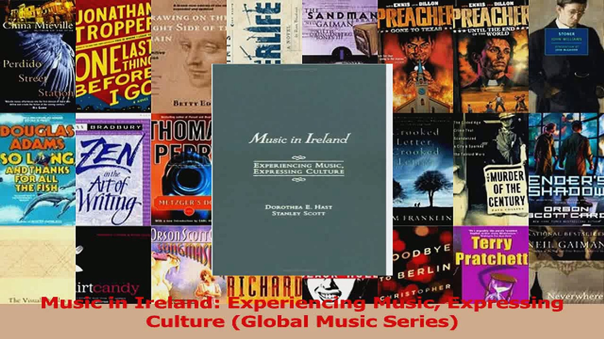 PDF Download  Music in Ireland Experiencing Music Expressing Culture Global Music Series Read Full E