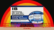 IB Chemistry SL and HL Examination Flashcard Study System IB Test Practice Questions  Download