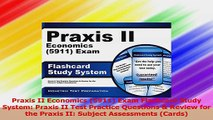 Praxis II Economics 5911 Exam Flashcard Study System Praxis II Test Practice Questions PDF