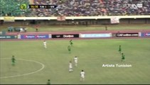 CAN U23 Sénégal 2015 - Tunisie vs Sénégal - Penalty non sifflé sur Seif Jaziri (14') 01-12-2015