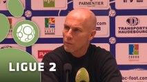 Conférence de presse Havre AC - Evian TG FC (3-2) : Bob BRADLEY (HAC) - Safet SUSIC (EVIAN) - 2015/2016