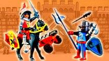 Golden Knight vs Dark Lord Playmobil Wars Epic Fight