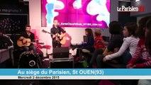 Aldebert en live au Parisien : «Le nécessaire»