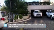 UN: Iran worked on nuclear weapons until 2009