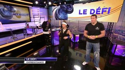 Vincent Parisi VS Vanessa Le Moigne sur beiN Sports avec Djibril Cissé.