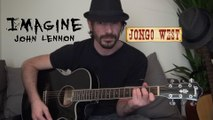 John Lennon - Imagine - Jongo West acoustic cover song (reprise acoustique)