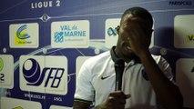 US Créteil 0 - 0 Paris FC : la réaction de Yannick Gbessi
