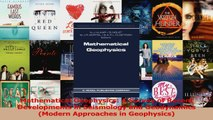 PDF Download  Mathematical Geophysics A Survey of Recent Developments in Seismology and Geodynamics Read Online
