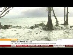 BBC。島嶼国は海面が上昇すると水没すること