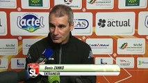 Réaction de Denis Zanko après Stade Lavallois - Stade Brestois 29