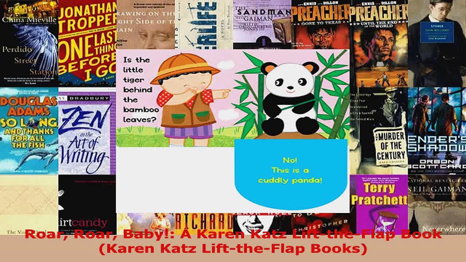 Download  Roar Roar Baby A Karen Katz LifttheFlap Book Karen Katz LifttheFlap Books PDF Online