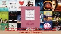 PDF Download  Portraits of Pioneers in Psychology Volume III Portraits of Pioneers in Psychology PDF Online