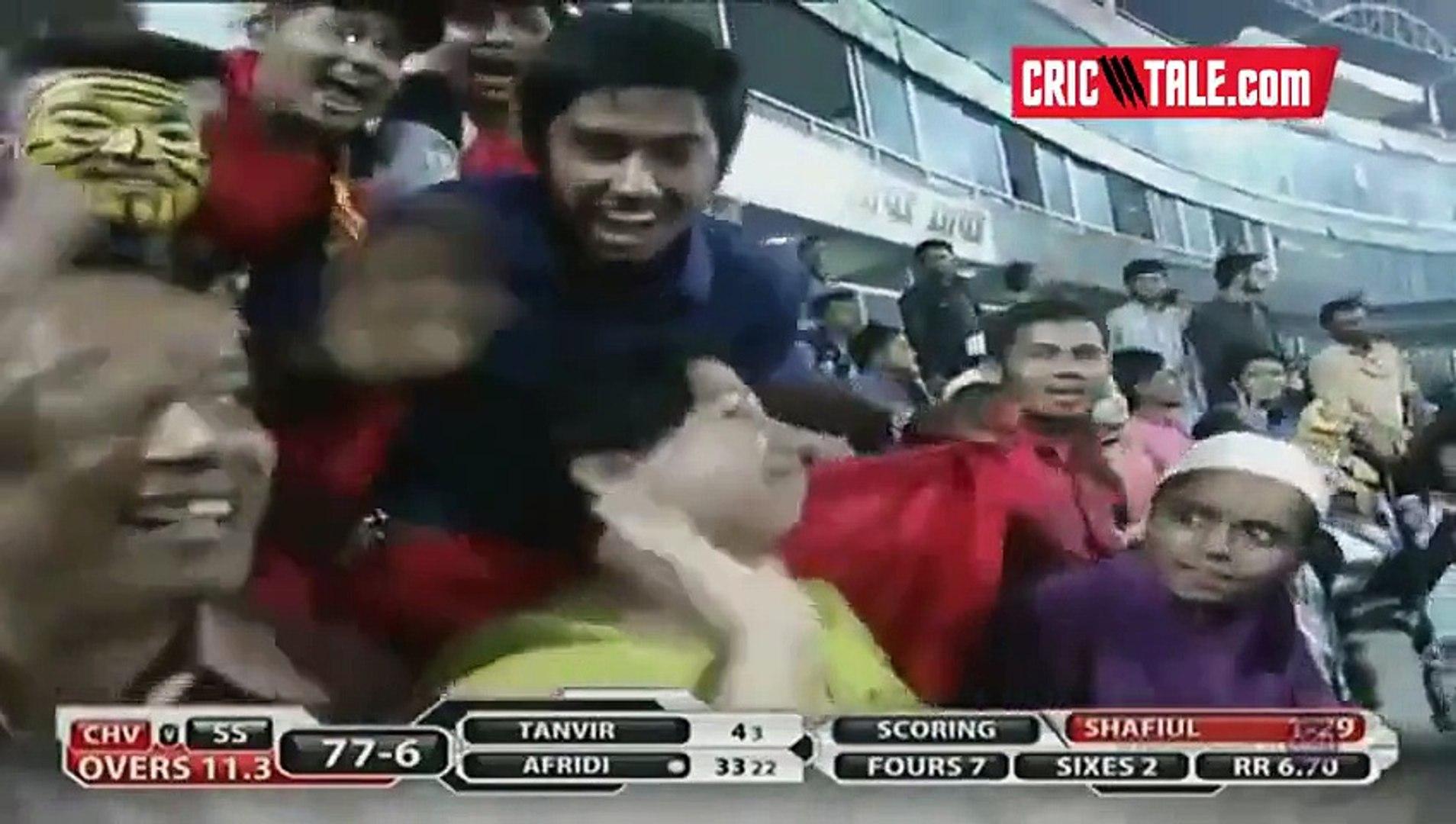 Afridi 62 runs vs Chittagong Vikings bpl t20