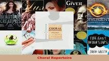 Read  Choral Repertoire EBooks Online