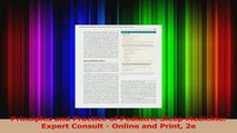 Principles and Practice of Pediatric Sleep Medicine Expert Consult  Online and Print 2e Download