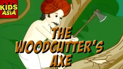 The Woodcutter's Axe | Tales Of Panchatantra |  Kids Asia