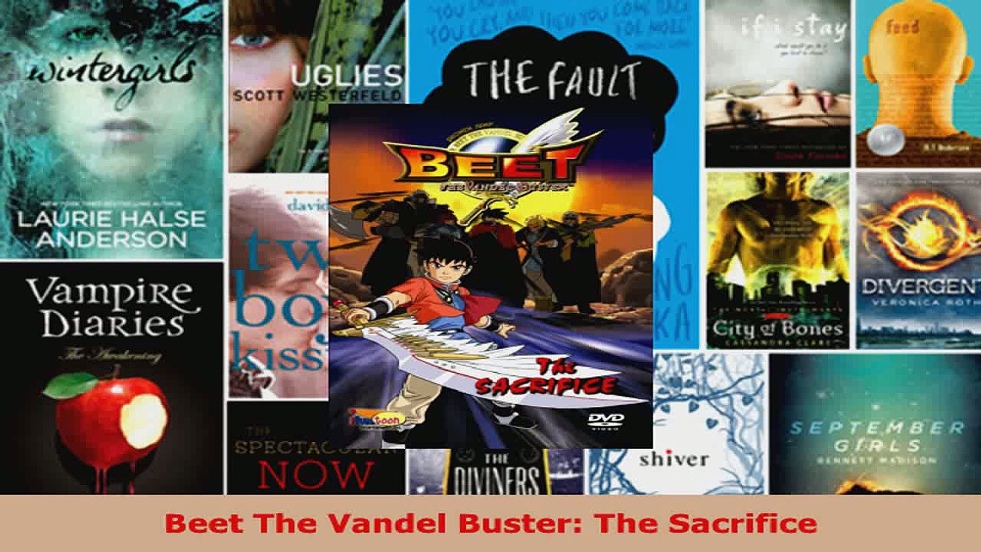 Read  Beet The Vandel Buster The Sacrifice Ebook Free