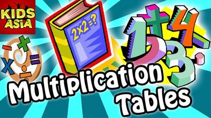 Multiplication Tables | Fun N Learn | Kids Asia